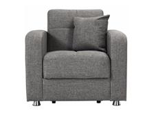 Harvey Chenille Klik Klack Chair