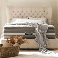 Free Box Spring with Select Beautyrest Mattresses
