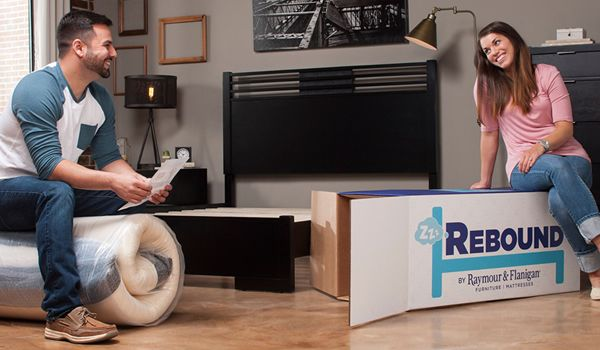 New! Rebound by Raymour & Flanigan Mattress in a Box