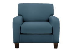 Cindy Crawford Bailey Microfiber Chair