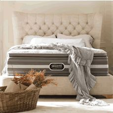 Free Box Spring with Beautyrest Recharge World Class mattress purchase