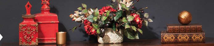 Home Decor - Silk Floral Arrangements