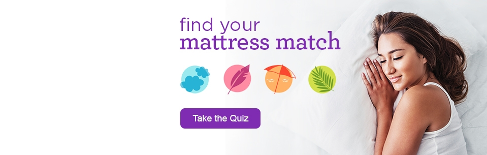 Find Your Mattress Match - Take the Quiz
