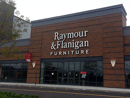 Raymour & Flanigan Furniture sprung into existence in when two brothers, Bernard and Arnold Goldberg, opened a furniture store in Syracuse, New York. Yes, the original store was called Raymour's and no, there is absolutely no explanation as to why two brothers named Goldberg named their furniture store Raymour.