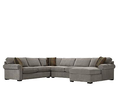 Kipling 4-pc. Chenille Sectional