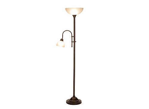 Bronze torchiere floor lamp bronze heritage raymour for Torchiere floor lamp 500w