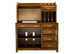 Beacon 2 Pc Writing Desk And Hutch Cherry Raymour