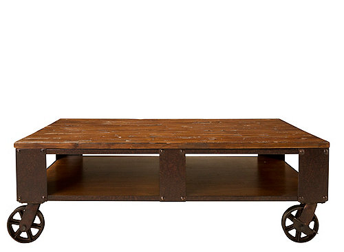 Fairview Coffee Table Distressed Natural Pine Raymour Flanigan