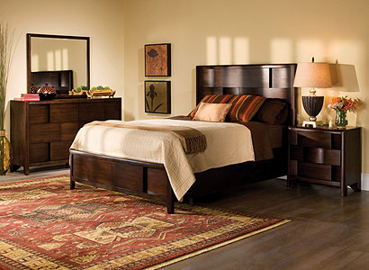 Saratoga Contemporary Bedroom Collection