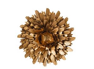 Copper Flower Wall Decor