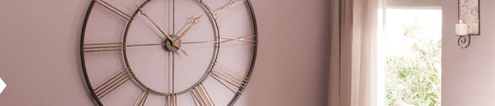 Wall Clocks & Decorative Mirrors