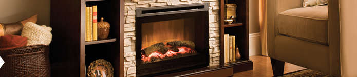 Living Rooms - Fireplaces