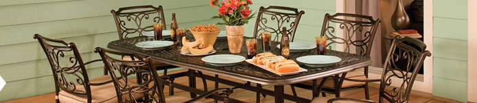 Outdoor Patio Furniture - Dining Rooms