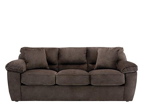 Rockport Microfiber Queen Sleeper Sofa