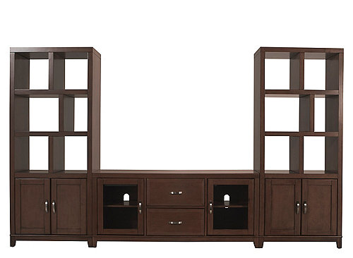 Granthom 3 Pc Wall Unit W 60 Tv Console Entertainment
