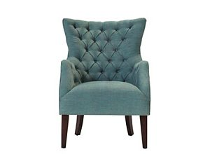 Angora Chenille Accent Chair