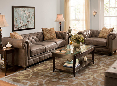 Saddler Transitional Living Room Collection