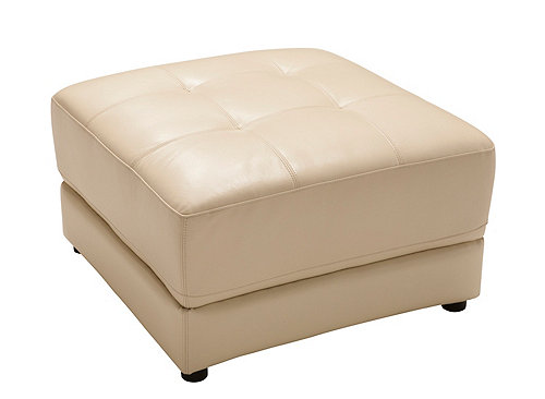 Clark Leather Ottoman Ottomans Raymour And Flanigan