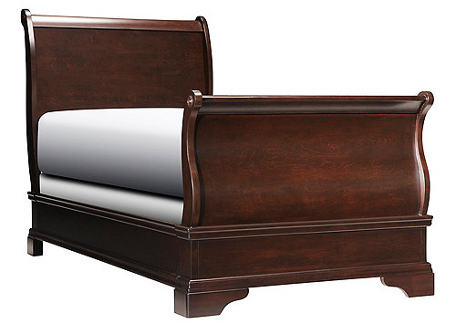 Charleston Twin Sleigh Bed Twin Beds Raymour And Flanigan Furniture Mattresses