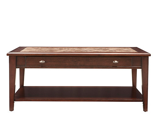 Paige Marble Look Lift Top Coffee Table Cherry Raymour Flanigan