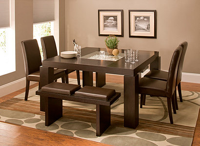 Cortland Place Contemporary Dining Collection Design