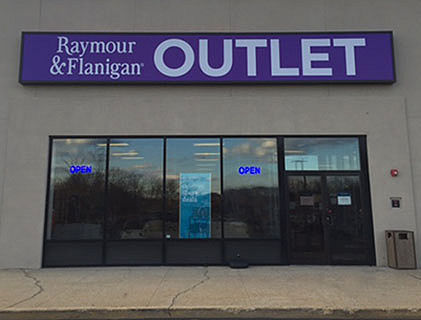 Raymour and Flanigan Lake Grove Smithtown Outlet