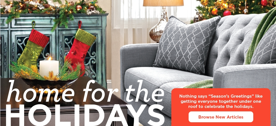 Home for the Holidays - Browse New Articles
