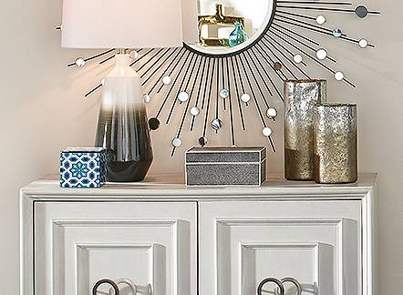 Save 25% on Rugs, lighting & decor