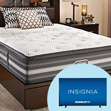 Free TV - with any Beautyrest Black mattress or mattress set purchase