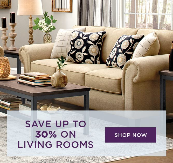 Save up to 30% on Livingrooms