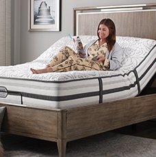 Free Adjustable Base - with any mattress or mattress set purchase of $999 or more