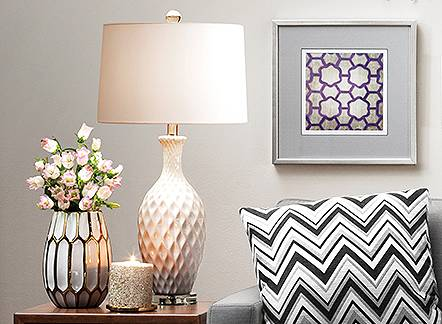 Save 25% Rugs, lighting and more