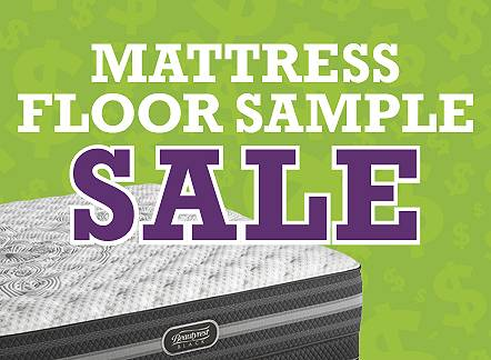 More than 50% Off Floor Sample Mattresses