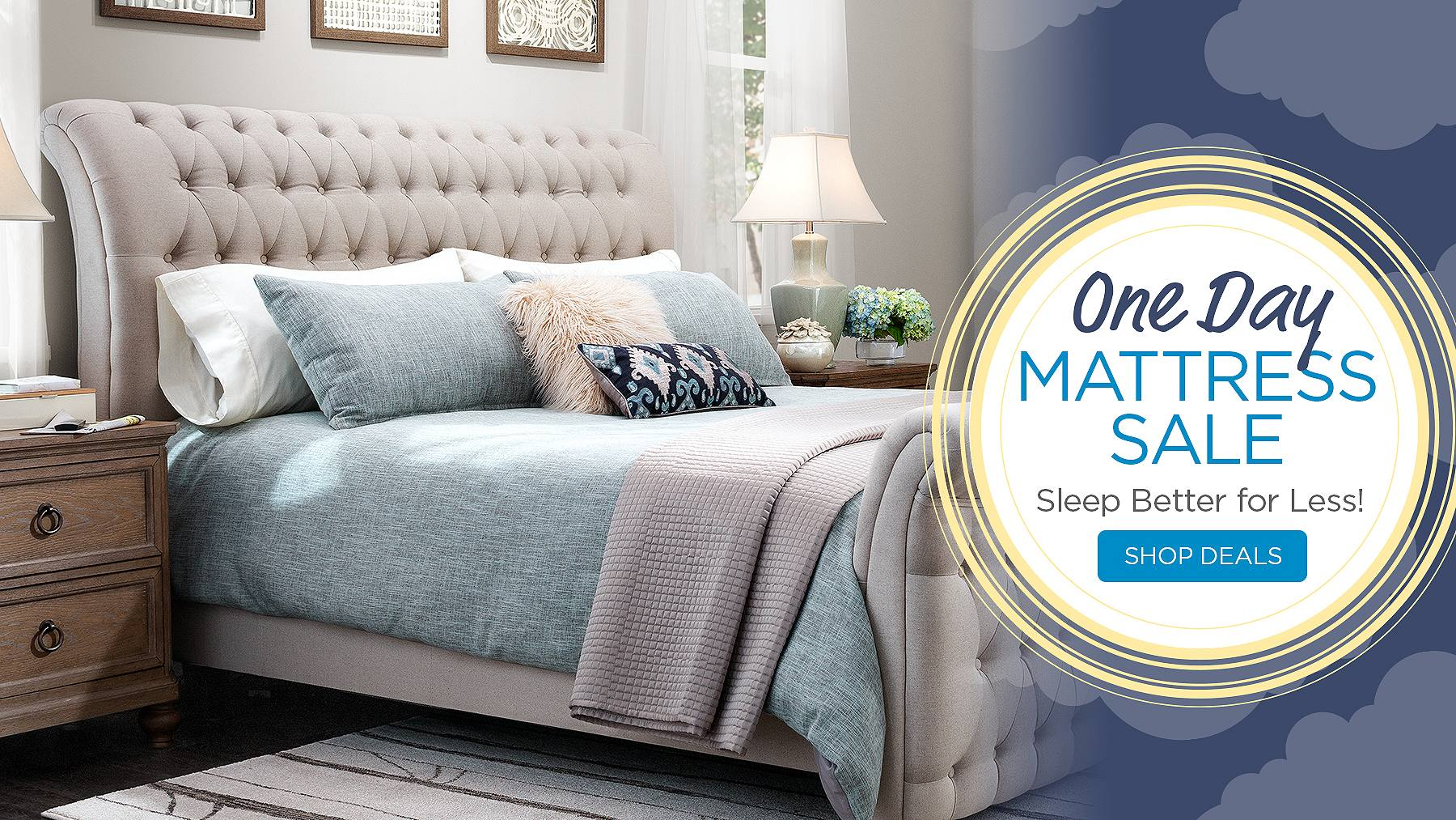 Shop One Day Mattress Sale