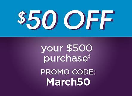 Promo Code: March50