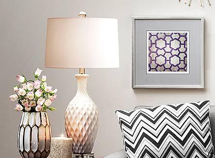 25% off home decor—lighting, wall art and more