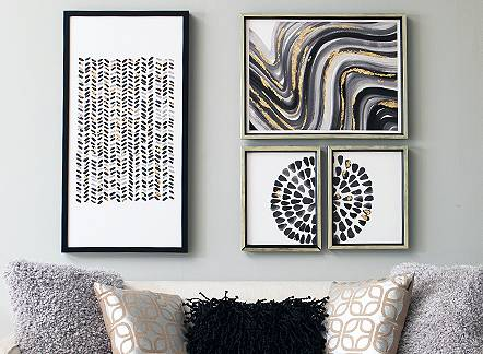 Dress it up with 25% off wall art through March 25.