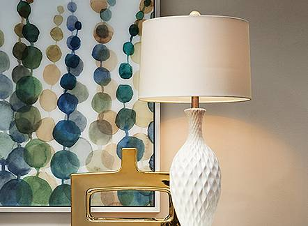 Light it up with 25% off lamps through March 25.