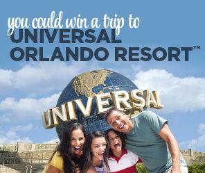 Universal Orlando Resort Giveaway
