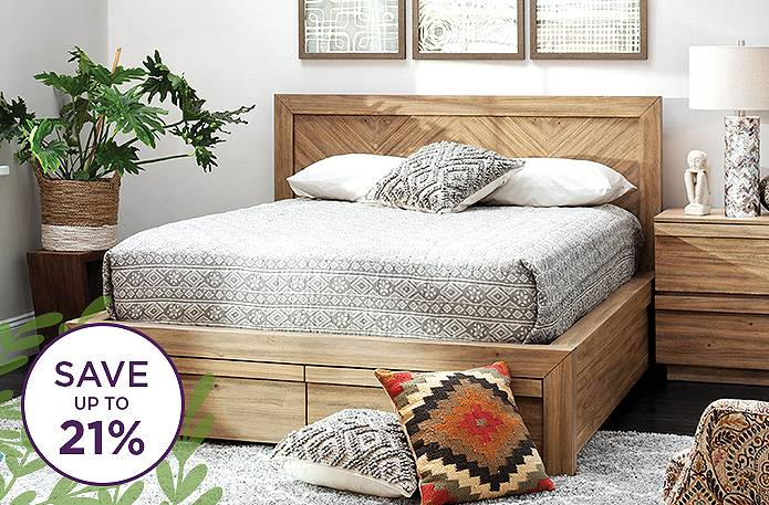 Up to 21% off bedroom sets