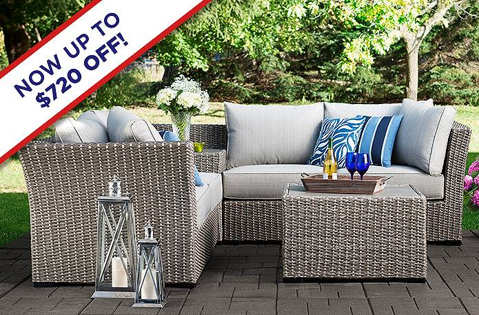 Save up to $720 on outdoor.
