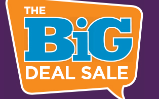 87bfedbd4a5 Big Deal Sale Bigger is sometimes better—like these savings!
