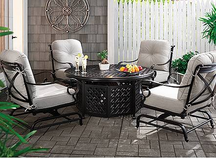 Up to 40% off outdoor furniture through June 19.