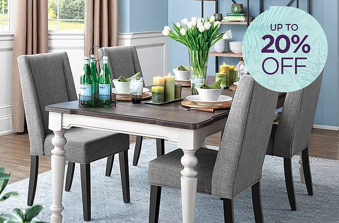 Save up to 20% on dining.