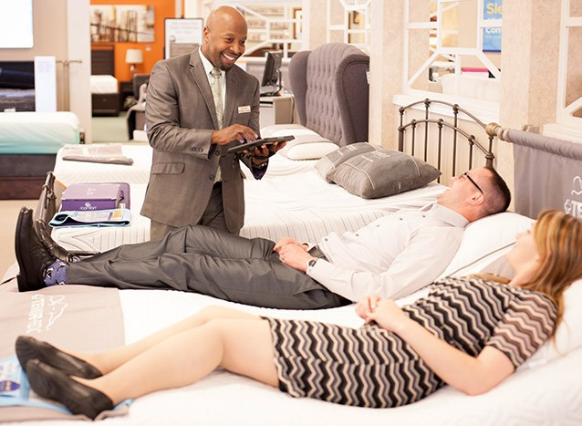 For your best rest, take our Comfort Test.