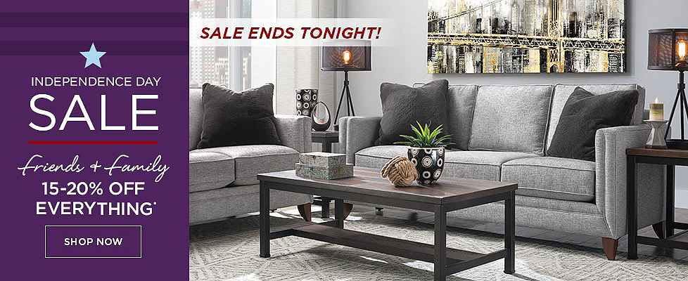 Independence Day Sale Ends Tonight - 15-20% Off Everything - Shop Now