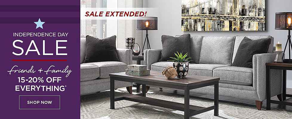 Independence Day Sale Extended - 15-20% Off Everything - Shop Now