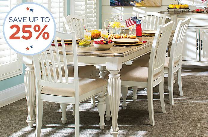25% off dining sets