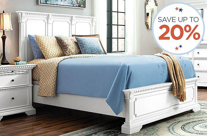 20% off queen beds