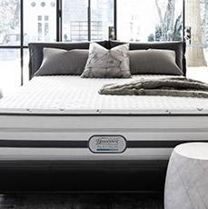 Free Box Spring - with Beautyrest Platinum Mattress Purchase